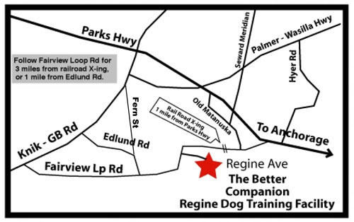 Map to Better Companion Training Center
